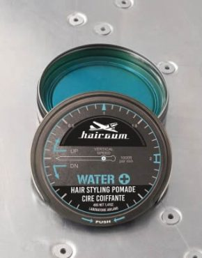 cire water + hairgum pomade cheveux