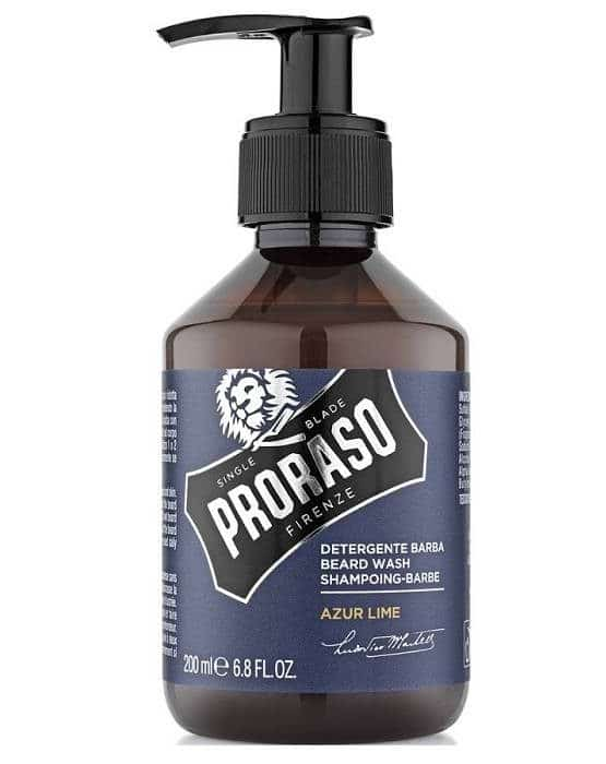 shampoing barbe proraso azur lime
